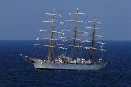 ARA Libertad Sets Sail
