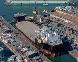 Shipyard Photo of The Day – NASSCO Floats First Mobile Landing Platform