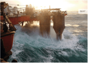 Borgholm Dolphin Receives 12 Month North Sea Contract, Plus Cool Storm Video