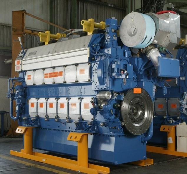 wartsila 26 medium speed diesel engine