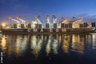 Ship Photos of The Day – CMA CGM Marco Polo in Hamburg