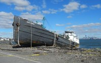 Hurricane Sandy Cleanup: Tanker Removed from Staten Island Street