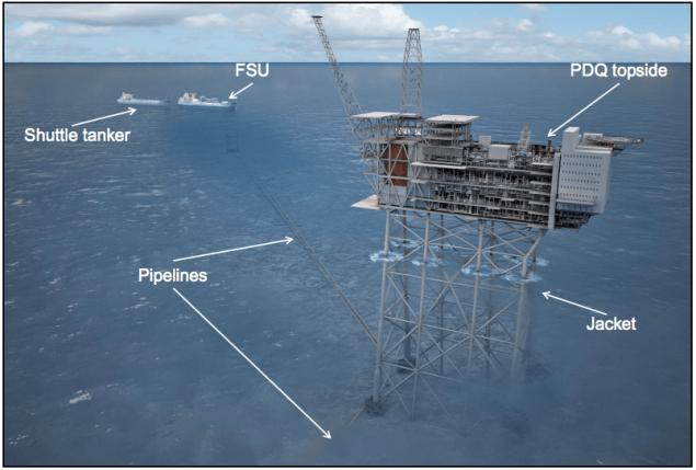 mariner platform statoil