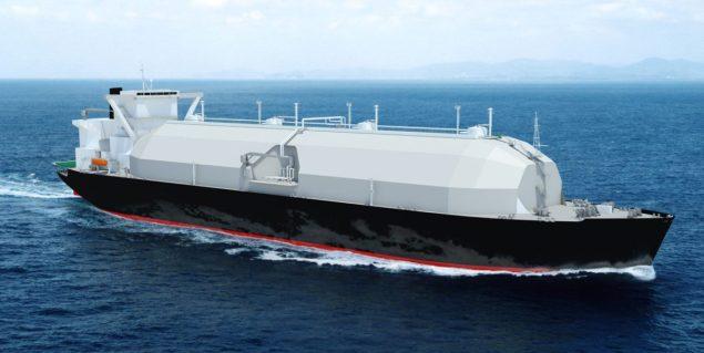 Sayaendo mol lng carrier
