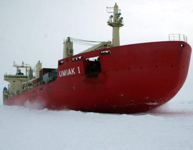 Umiak I fednav icebreaker