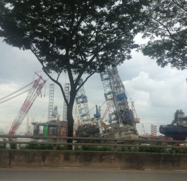 jurong shipyard accident jack up