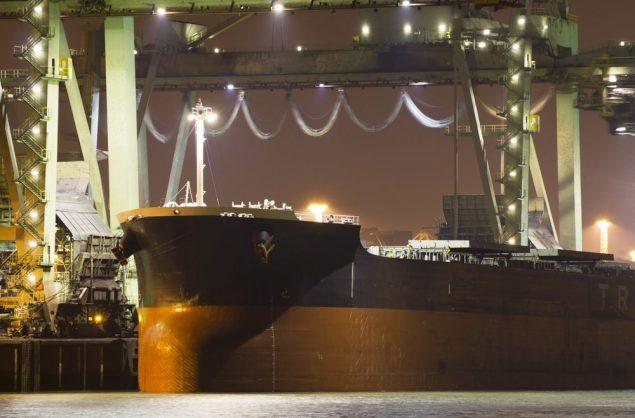 bulk carrier iron ore shutterstock