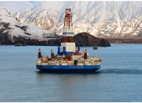 On Monday, Shell's Kulluk drilling rig was towed to a safe harbor after being refloated. Photo: Kulluk Response