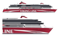 STX Finland Delivers World's Largest LNG Powered Ferry, VIKING GRACE