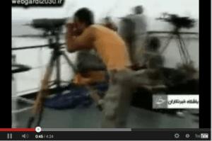 iranian maritime security pirates video