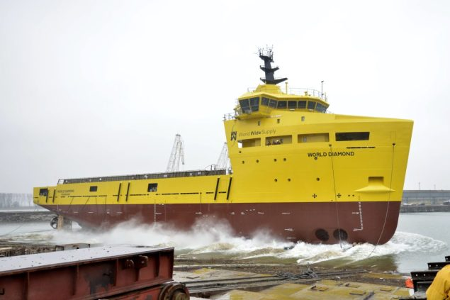 World Diamond psv damen shipyards