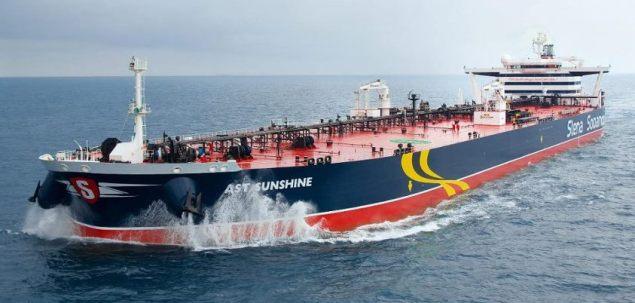 ast sunshine tanker