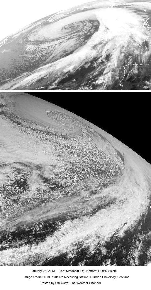 weather bomb north atlantic