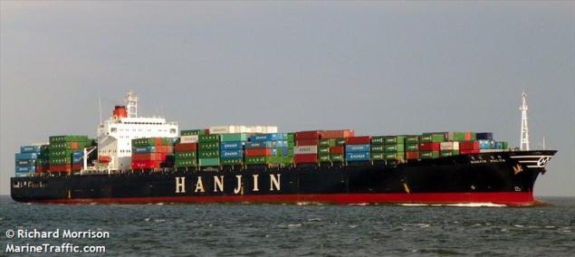hanjin malta containership