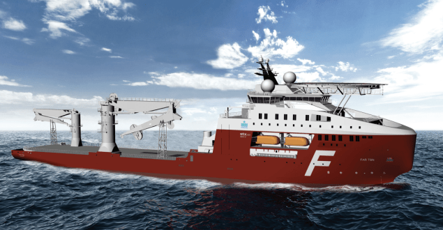 STX OSCV 07 offshore subsea construction vessel
