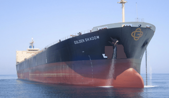 golden shadow bulk carrier