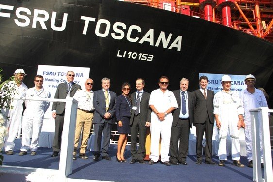 fsru toscana drydocks world