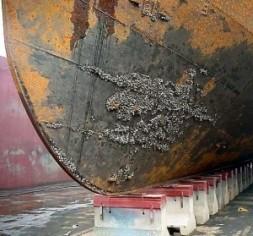 hull coating wrinkle ship