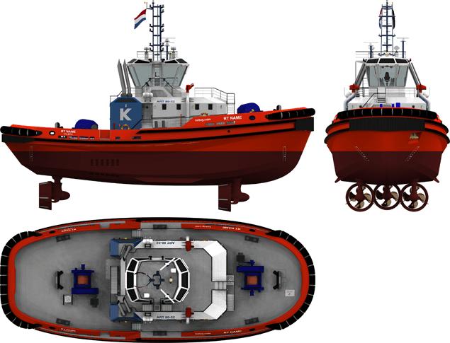 ART 80-32 rotor tug rendering