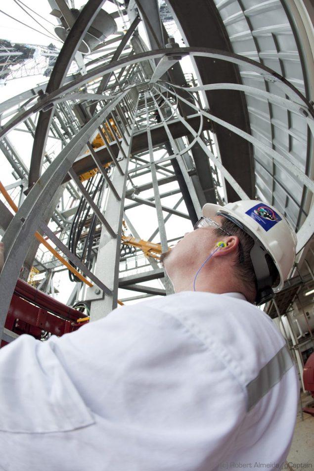 Sean Holt, an ABS surveyor and US Merchant Marine Academy 2003 grad. (c) R.Almeida/gCaptain
