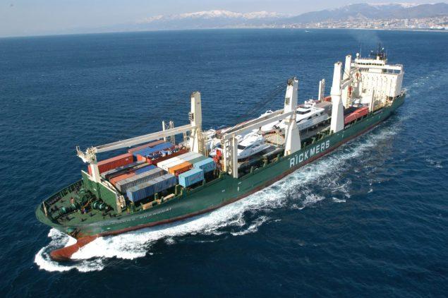 Rickmers Shanghai cargo ship