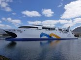 Dual-Fuel Ferry Claims World's Fastest Ship