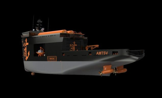 Arctic Modular Towing Supply Vessel concept II