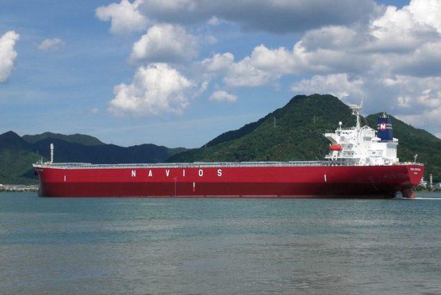 The 2007-built Navios Primavera. Photo credit: Navios Maritime Holdings