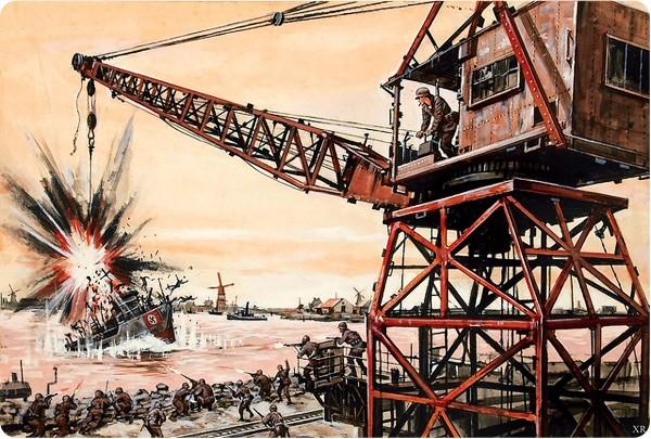 nazi crane