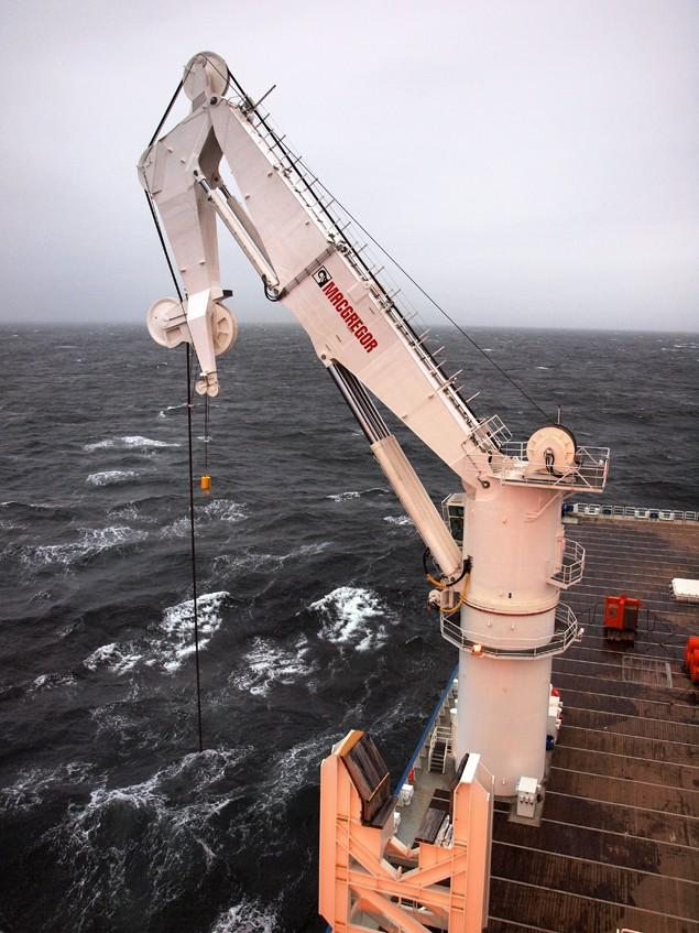 macgregor offshore crane