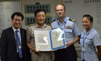 MV Hyundai Unity Crew Receives Commendation from U.S. Coast Guard