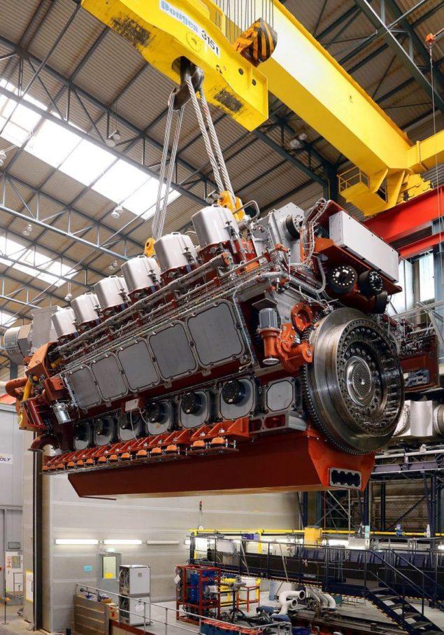 MaK™ M 46 DF dual fuel marine engine
