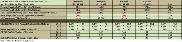drybulk fleet analysis