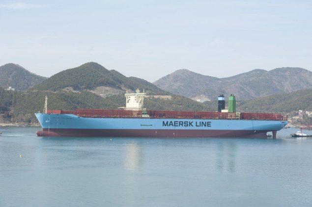 The M/V Mærsk McKinney-Møller. Image courtesy Maersk Line.