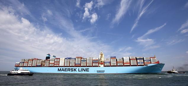 MV Maersk Mc-Kinney Moller rotterdam
