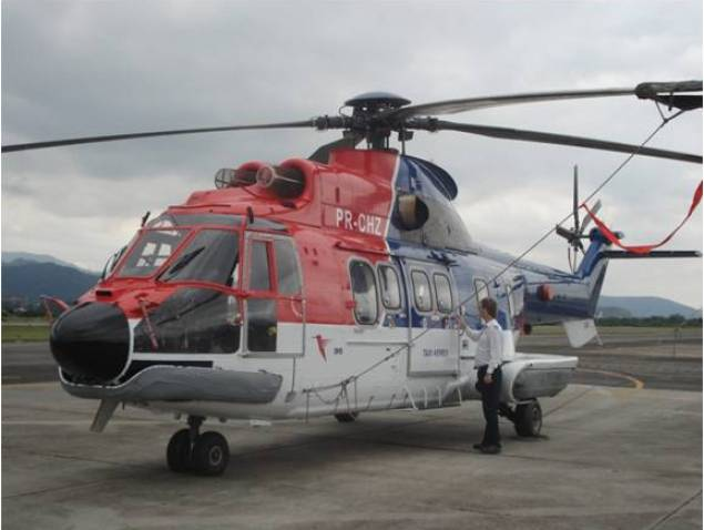 File photo of a Eurocopter AS332. Photo credit: CHC Helicopters