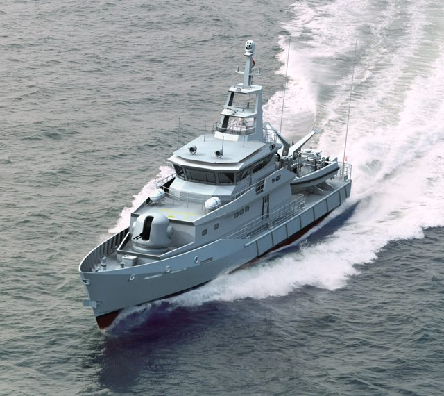 SPa 4207 damen patrol boat