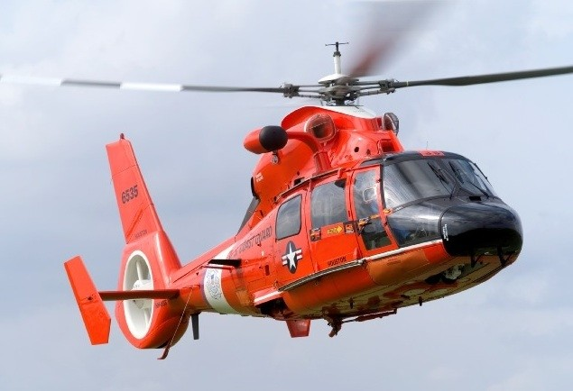 File photo of USCG helicopter. Image credit: USCG