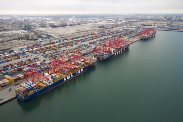 File photo of Pier T at Port of Long Beach. Image credit: Port of Long Beach