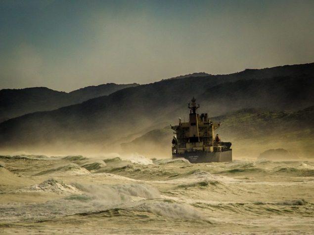 kiani satu aground