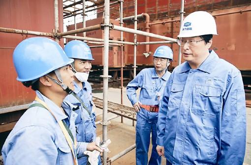 China State Shipbuilding Corporation Chairman, Hu Wenming