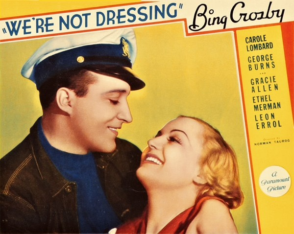 We're Not Dressing (Paramount, 1934)