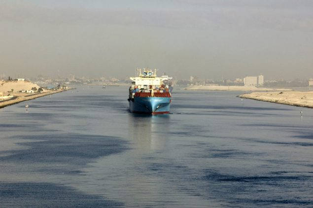 Suez Canal file photo. Image (c) Oleksandr Kalinichenko/Shutterstock