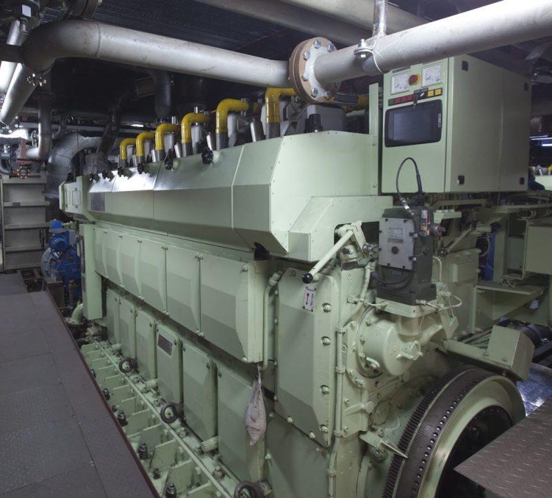 Borgøy lng powered tug Buksér og Berging rolls-royce gas engine