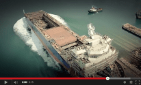 WATCH: Jumbo Shoots Dramatic Ship Launching from Quadcopter