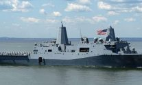 A Busy Month for USS San Antonio, 128 Migrants, Plus One International Terrorist