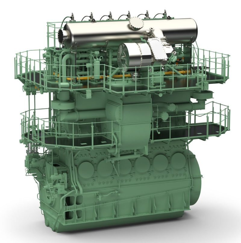 wartsila RT-flex 50DF engine