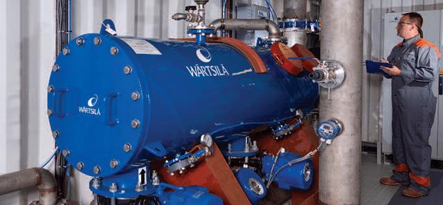 wartsila ballast water treatment