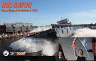Eastern Shipbuilding Launches Latest HOSMAX OSV for Hornbeck