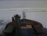 Australian Icebreaker Beset in Heavy Pack Ice
